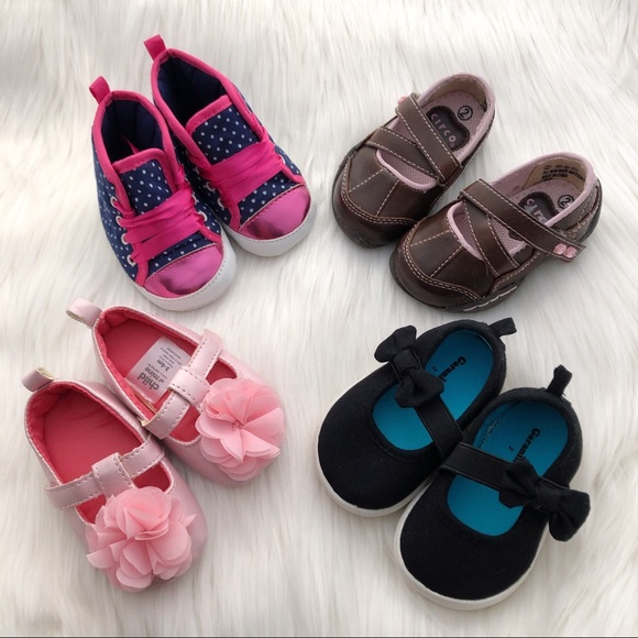 Pairs Of Baby Girl Shoes